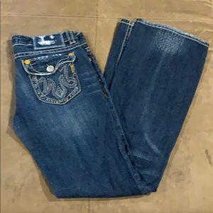Women's MEK Oaxaca Bootcut 27 Jeans 27x34